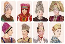 kokosnik  russian headdress