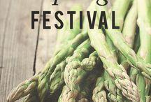A S P A R A G U S F E S T I V A L / Michigan is home to the National Asparagus Festival.