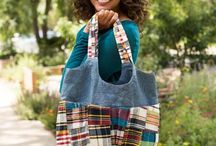 Tote Bag Sewing Patterns & Projects