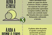 Saúde e exercícios PILATES
