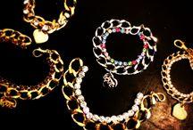 Luxury Chain By Magnetic LOVE® / Bracciale linea LUXORY Magnetic LOVE® abbinato a strass Swarovski colorazioni: ORO E NICHEL