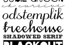 Font Love / The best font round-ups all in one place!