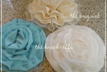 Fabric Flowers / by Wedding Party