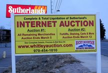 3-5-16 Sutherland's Friendly Home Improvement Centers Inc. Internet Auction #1. / 3-5-16 Sutherland's Friendly Home Improvement Centers Inc. Internet Auction #1. Visit http://bid.whitleyauction.com to bid now. Complete and Total Liquidation of Cheyenne, Wyoming Store. Selling all the remaining retail merchandise including tools, lumber, roofing, hardware, plumbing, lighting, electrical, lawn & garden, clothing, sporting goods & MORE! Bidding ends Saturday, March 5, 2016 6:10 PM Visit http://bid.whitleyauction.com to bid now.
