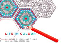 Grown up colouring