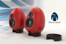 Munro Sonic Egg100 Desktop Monitoring System / Check out our cute new Munro Sonic Egg100 Desktop Monitoring System!