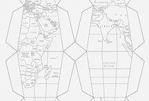 globus papierowy
