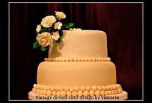 Ivory wedding / Wedding cake