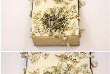 Książki rzeżba