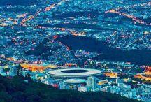 Rio de Janeiro including Maracaná Stadium Illuminated at night, Brazil #HeathrowGatwickCars.com