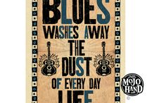 Blues Music Posters at Mojohand.com