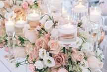 light pink weddings