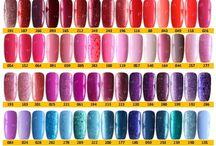 Q1T UV nail polish colour chart