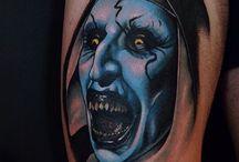 Horror movie- tattoos