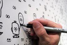 visual thinking exercise / Übungen für visuelles Denken und Sketchnotes