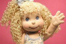 muñeca con ojos de vidrio espectacular