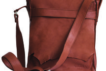 Bags / Light and durable leather bags, made of soft Nordic  reindeer leather and handmade in Finland.