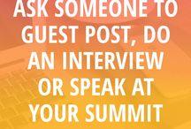 Astuces Blogging - Blogging tips / Comment créer un blog et le développer - astuces, tutoriels