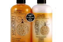 Spice is Nice / Sugar and spice and everything nice! You will love this Vitabath Set. It's a perfect blend of fresh pumpkin and allspice mixed with delicious cream cheese icing and finished off with notes of rum and maple syrup. http://myvitabath.com/spice-is-nice-body-wash-lotion-set#.VgVutp1Viko