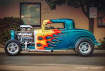 hot rod / Blown and Flamed 1931 Ford 3 Window Hot Rod, This has to be one of the most striking flame job I have seen in years. The painter even extended the flames onto the roof panel  If you like this car add my fb page ishoothotrods