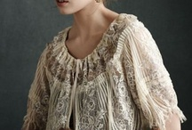 Love this / Love the vintage lace, books and clothing.