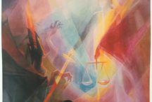 Liane Collot d'Herbois / Schilderijen van de kunstenares Liane Collot d'Herbois