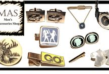 Mens Accessories Shop / Men's Accessories Shop is an international marketplace featuring the best vintage jewelry accessories in the world. We scour the globe to find the most stylish items, refurbish them and resell them to you at discounted prices.