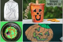 Halloween / Halloween crafts and activities for kids. Halloween recipes and treats for the whole family. Includes Halloween movies for kids, spooky dessert recipes, DIY costumes and ways to decorate pumpkins!