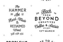 Lovely Typography and Hand Writting