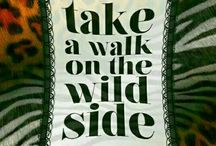 •••LEO  PRINT ,take a walk on the WILD SIDE•••