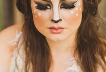 Deer Costume And Make up Tutorial