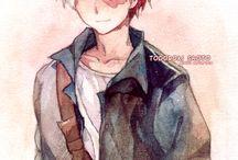Todoroki Shoto / half hot, half cold