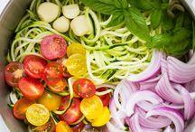 grønnsaknudler