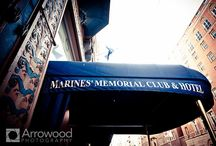 Marines' Memorial Club in San Francisco / Weddings at the Marines' Memorial Club All photos © 2015 Arrowood Photography. http://www.arrowoodphotography.com