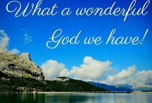 What a wonderful God we have