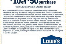 Home Printable Coupons / Coupons for the house: Lowes coupons, Home Depot coupons, Bed Bath and Beyond coupons, Kohls coupon codes and Kohls printable coupons / by Cha Ching Queen