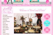Boutique Websites / Candy Crayons Glamorous Boutique Web Designs