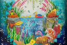 Színezés - tenger