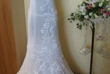 abito crochet wedding