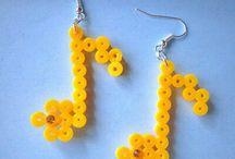 hama beads idea mix bijoux