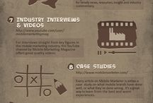Mobile Marketing Video and Infographics / by Kirk Mktg
