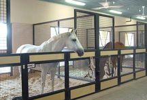 Stalls and barns