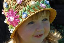 HATS W/FLOWERS / by Sonja