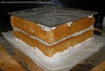 τούρτες τεχνικές ζαχαρόπαστας και βουτυρόκρεμας