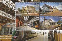 Railway Station Stamps