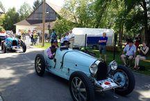 Internationales Bugatti-Treffen in Neuenmarkt / Im Rahmen der Pfingstdampftage 2014 im Deutschen Dampflokomotiv Museum in Neuenmarkt (Lkr. Kulmbach) fand ein großes Treffen von Bugatti-Freunden aus nah und fern statt. Hier kamen Oldtimer-Freunde voll und ganz auf ihre Kosten...