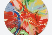 Y07 Abstract - Damien Hirst Spin