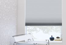 window treatment / shades and draperies
