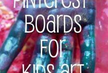 kids crafts / by Tiffaney Thomsen