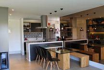 Decoração de cozinhas / Várias ideias de cozinhas em todos os estilos e tamanhos